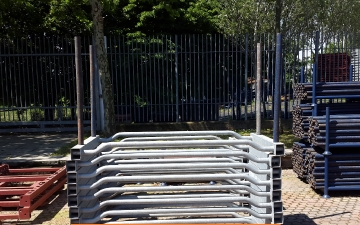 Scaffoldings and used materials for sale